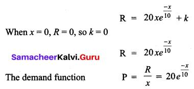 Samacheer Kalvi 12th Business Maths Solutions Chapter 3 Integral Calculus II Ex 3.2 Q13.1