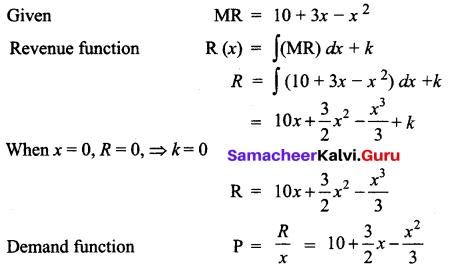 Samacheer Kalvi 12th Business Maths Solutions Chapter 3 Integral Calculus II Ex 3.2 Q16