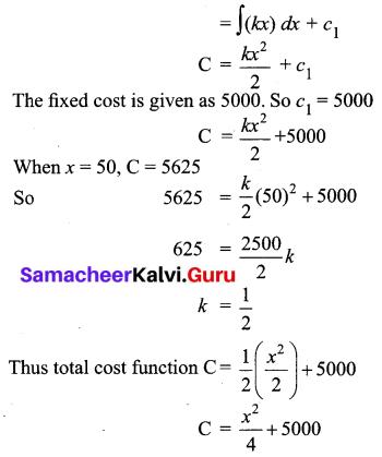 Samacheer Kalvi 12th Business Maths Solutions Chapter 3 Integral Calculus II Ex 3.2 Q18