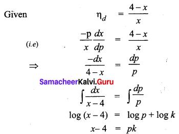 Samacheer Kalvi 12th Business Maths Solutions Chapter 3 Integral Calculus II Ex 3.2 Q3