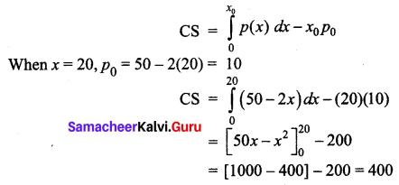 Samacheer Kalvi 12th Business Maths Solutions Chapter 3 Integral Calculus II Ex 3.3 Q1