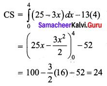 Samacheer Kalvi 12th Business Maths Solutions Chapter 3 Integral Calculus II Ex 3.3 Q11