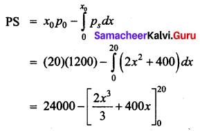 Samacheer Kalvi 12th Business Maths Solutions Chapter 3 Integral Calculus II Ex 3.3 Q8