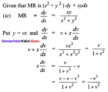 Samacheer Kalvi 12th Business Maths Solutions Chapter 4 Differential Equations Ex 4.3 Q7