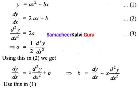 Samacheer Kalvi 12th Business Maths Solutions Chapter 4 Differential Equations Miscellaneous Problems Q2