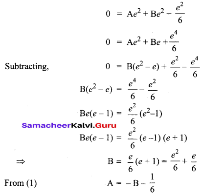 Samacheer Kalvi 12th Business Maths Solutions Chapter 4 Differential Equations Miscellaneous Problems Q7.1