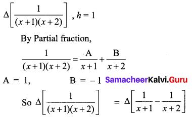 Samacheer Kalvi 12th Business Maths Solutions Chapter 5 Numerical Methods Ex 5.1 Q5