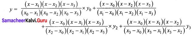 Samacheer Kalvi 12th Business Maths Solutions Chapter 5 Numerical Methods Ex 5.2 Q11.1