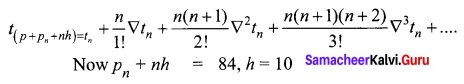 Samacheer Kalvi 12th Business Maths Solutions Chapter 5 Numerical Methods Ex 5.2 Q7.1
