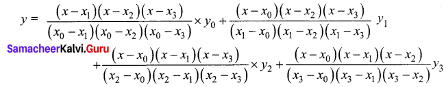 Samacheer Kalvi 12th Business Maths Solutions Chapter 5 Numerical Methods Ex 5.2 Q9.1