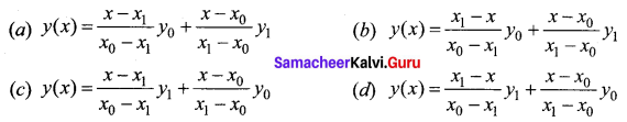 Samacheer Kalvi 12th Business Maths Solutions Chapter 5 Numerical Methods Ex 5.3 Q11