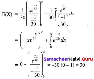 Samacheer Kalvi 12th Business Maths Solutions Chapter 6 Random Variable and Mathematical Expectation Ex 6.2 Q13.1