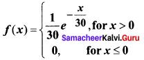 Samacheer Kalvi 12th Business Maths Solutions Chapter 6 Random Variable and Mathematical Expectation Ex 6.2 Q13