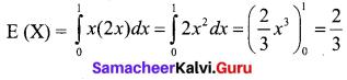 Samacheer Kalvi 12th Business Maths Solutions Chapter 6 Random Variable and Mathematical Expectation Ex 6.2 Q4.1