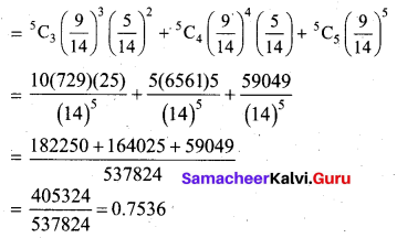 Samacheer Kalvi 12th Business Maths Solutions Chapter 7 Probability Distributions Ex 7.1 Q12