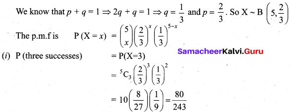 Samacheer Kalvi 12th Business Maths Solutions Chapter 7 Probability Distributions Ex 7.1 Q20