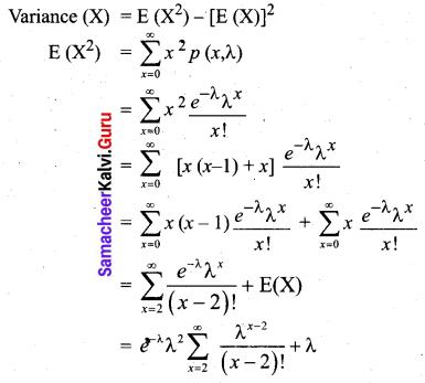 Samacheer Kalvi 12th Business Maths Solutions Chapter 7 Probability Distributions Ex 7.2 Q4.1