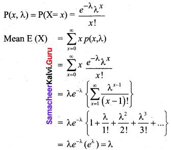 Samacheer Kalvi 12th Business Maths Solutions Chapter 7 Probability Distributions Ex 7.2 Q4