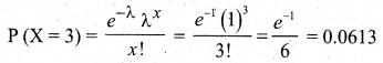 Samacheer Kalvi 12th Business Maths Solutions Chapter 7 Probability Distributions Ex 7.4 Q6.1
