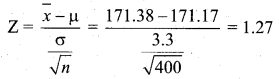 Samacheer Kalvi 12th Business Maths Solutions Chapter 8 Sampling Techniques and Statistical Inference Additional Problems II Q3