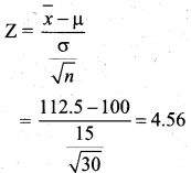 Samacheer Kalvi 12th Business Maths Solutions Chapter 8 Sampling Techniques and Statistical Inference Additional Problems III Q4.1