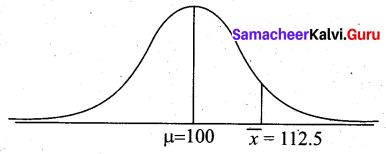 Samacheer Kalvi 12th Business Maths Solutions Chapter 8 Sampling Techniques and Statistical Inference Additional Problems III Q4