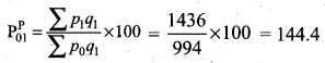 Samacheer Kalvi 12th Business Maths Solutions Chapter 9 Applied Statistics Ex 9.2 11