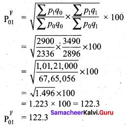 Samacheer Kalvi 12th Business Maths Solutions Chapter 9 Applied Statistics Ex 9.2 31