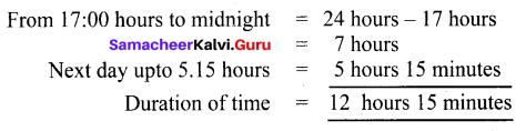 Samacheer Kalvi 6th Maths Guide Term 2 Chapter 2 Measurements Ex 2.2