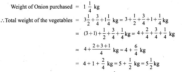 Samacheer Kalvi 6th Maths Solutions Term 3 Chapter 1 Fractions Ex 1.1