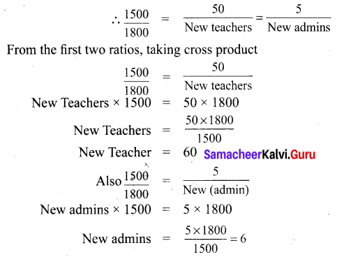 Samacheer Kalvi 6th Maths Term 1 Chapter 3 Ratio and Proportion Ex 3.5 Q2