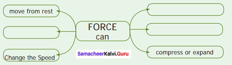 Samacheer Kalvi 6th Science Solutions Term 1 Chapter 2 Force and Motion 11