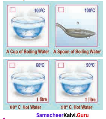 Samacheer Kalvi Guru 6th Science Term 2 Chapter 1 Heat