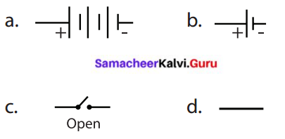 Samacheer Kalvi 6th Science Term 2 Chapter 2 Electricity