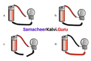 Samacheer Kalvi Term 2 6th Science Solutions Chapter 2 Electricity