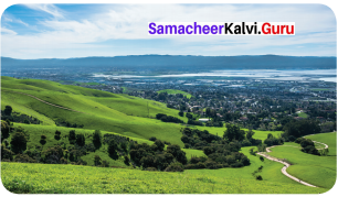 6th Standard Geography Guide Term 1 Chapter 2 Land And Oceans Samacheer Kalvi
