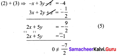 Samacheer Kalvi 10th Maths Exercise 3.1 Chapter 3
