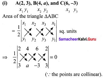 Samacheer Kalvi 10th Maths Exercise 5.1 Chapter 5 Coordinate Geometry