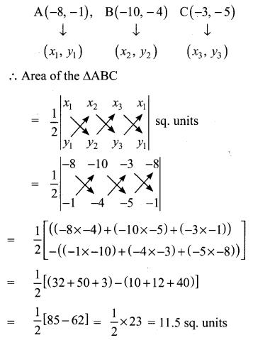 Ex 5.1 Class 10 Samacheer Chapter 5 Coordinate Geometry