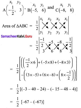 10th Maths Coordinate Geometry Exercise 5.1 Samacheer Kalvi