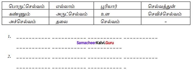 Samacheer Kalvi 7th Tamil Solutions Term 1 Chapter 2.6 திருக்குறள் - 01
