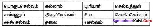 Samacheer Kalvi 7th Tamil Solutions Term 1 Chapter 2.6 திருக்குறள் - 1