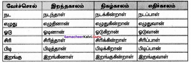 Samacheer Kalvi 7th Tamil Solutions Term 2 Chapter 1.5 இலக்கியவகைச் சொற்கள் - 1