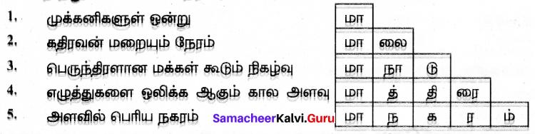Samacheer Kalvi 7th Tamil Solutions Term 2 Chapter 1.5 இலக்கியவகைச் சொற்கள் - 4