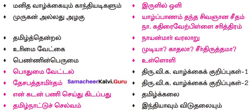 Samacheer Kalvi 8th Tamil Solutions Chapter 4.5 வேற்றுமை 4