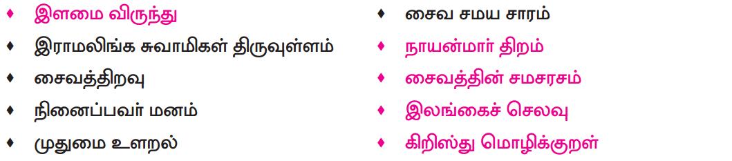 Samacheer Kalvi 8th Tamil Solutions Chapter 4.5 வேற்றுமை 5