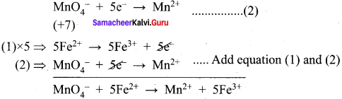 Samacheer Kalvi 11th Chemistry Solutions Chapter 1 Basic Concepts of Chemistry and Chemical Calculations