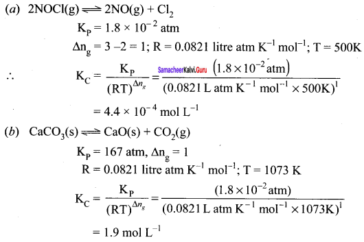 Samacheer Kalvi 11th Chemistry Solutions Chapter 8 Physical and Chemical Equilibrium-102