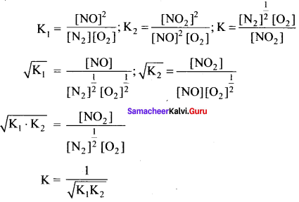 Samacheer Kalvi 11th Chemistry Solutions Chapter 8 Physical and Chemical Equilibrium-121