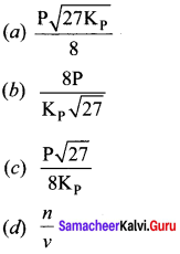 Samacheer Kalvi 11th Chemistry Solutions Chapter 8 Physical and Chemical Equilibrium-22